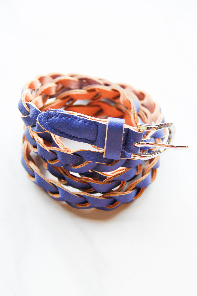 Thin Royal Woven Belt