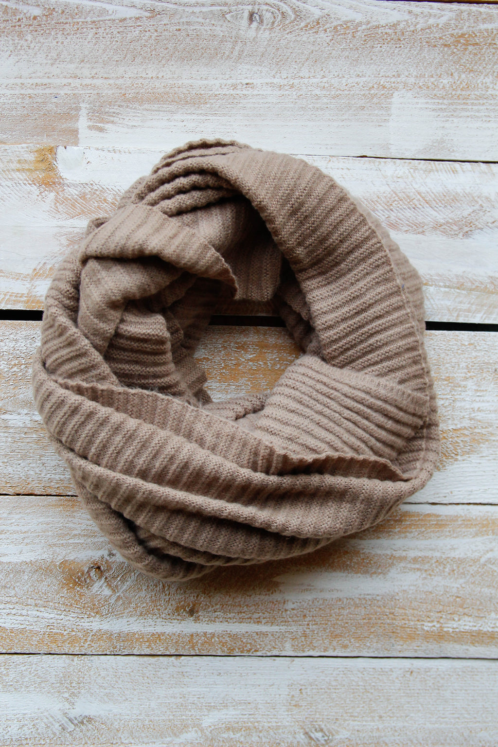 Oh So Soft Taupe Scarf