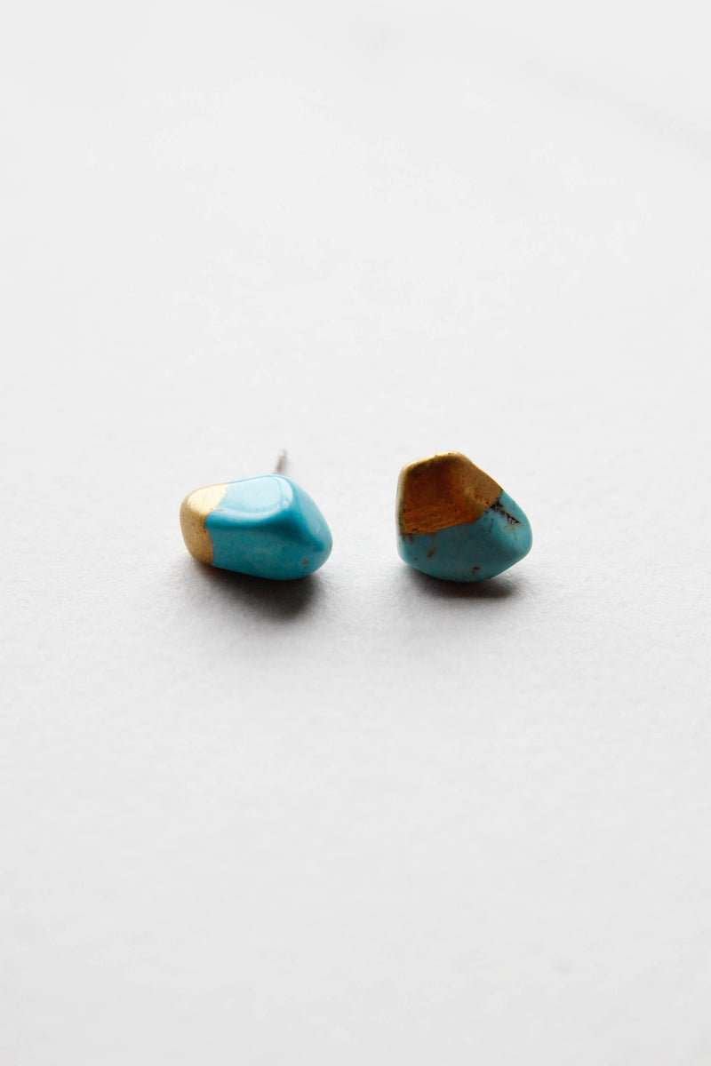 Gold Dipped Stone Studs