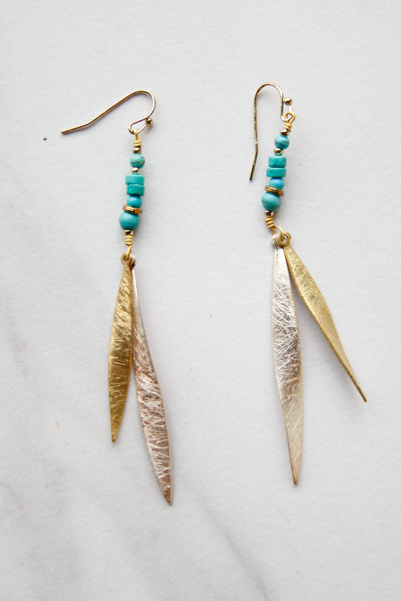 Feather Flowin' Earrings