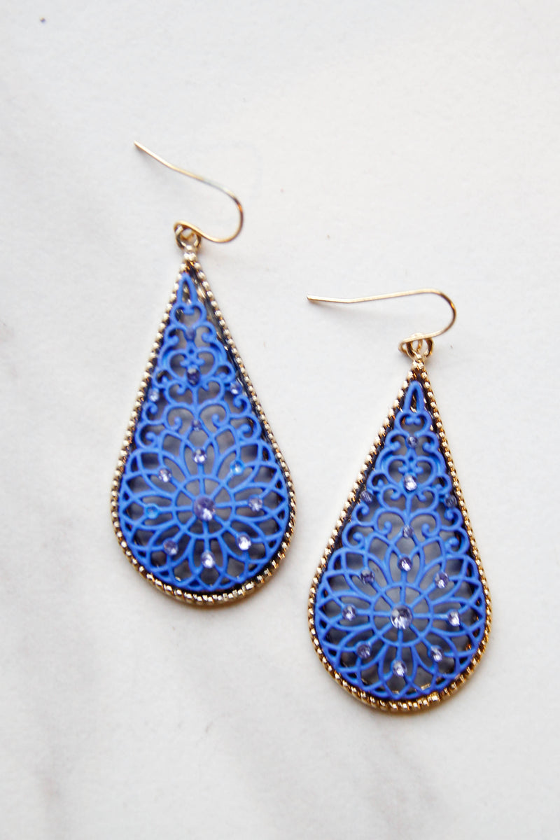 Blue Kaleese Earrings