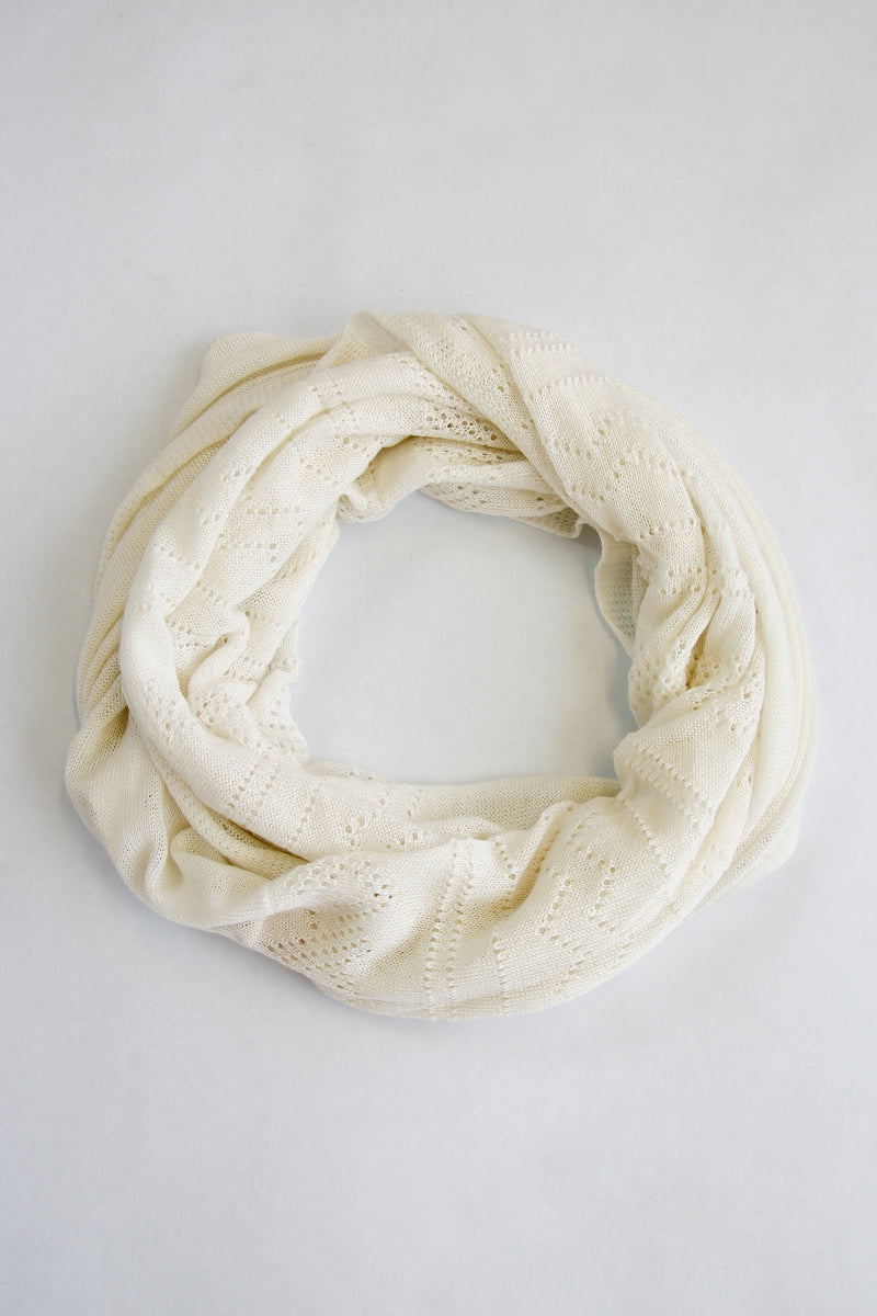 Delicate Ivory Scarf