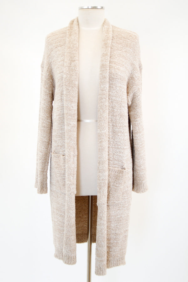 Soft & Sweet Cardigan - Taupe