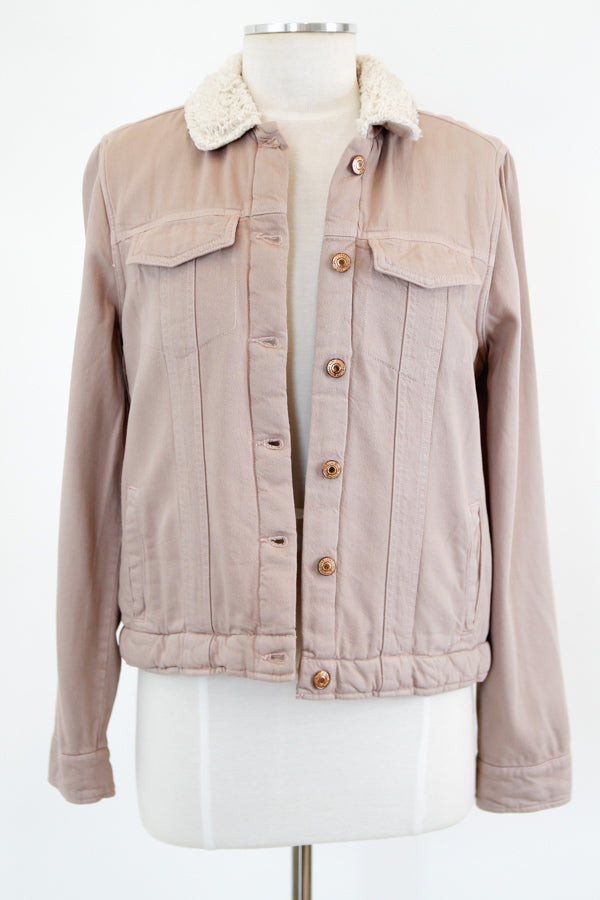 Out For A Stroll Jacket - Mauve