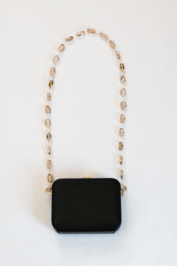 Out Of The Box Clutch - Black