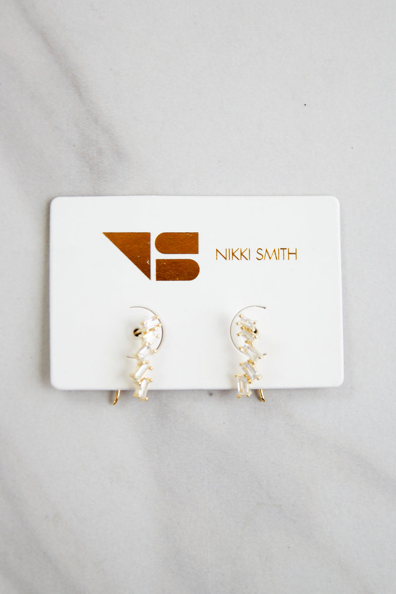 Constellation Drop Earrings - Gold