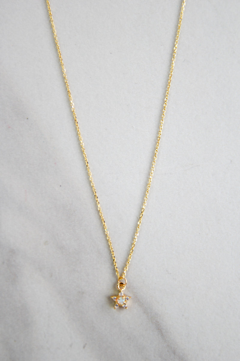 Summer Solstice Necklace - Gold