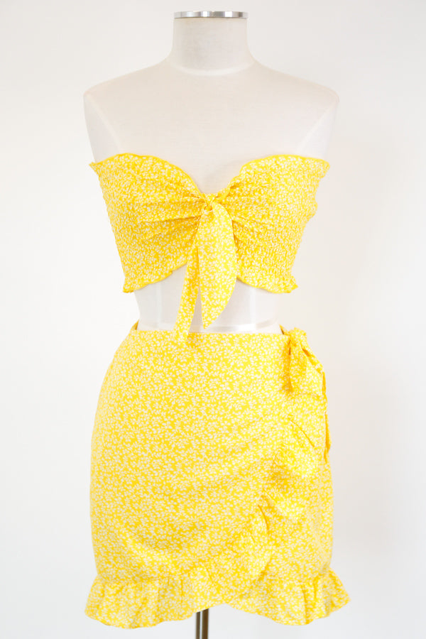 Literal Sunshine Set - Yellow Floral