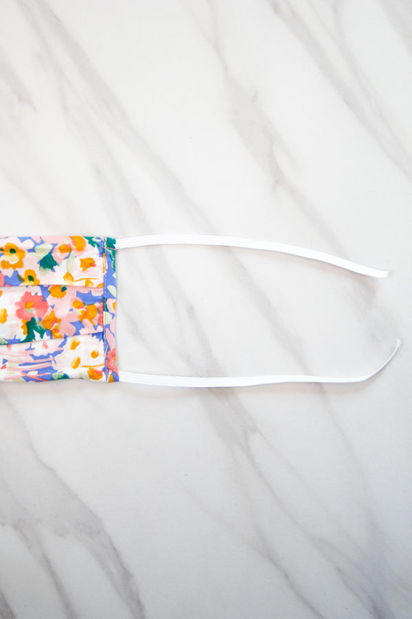 Cloth Face Mask - Floral