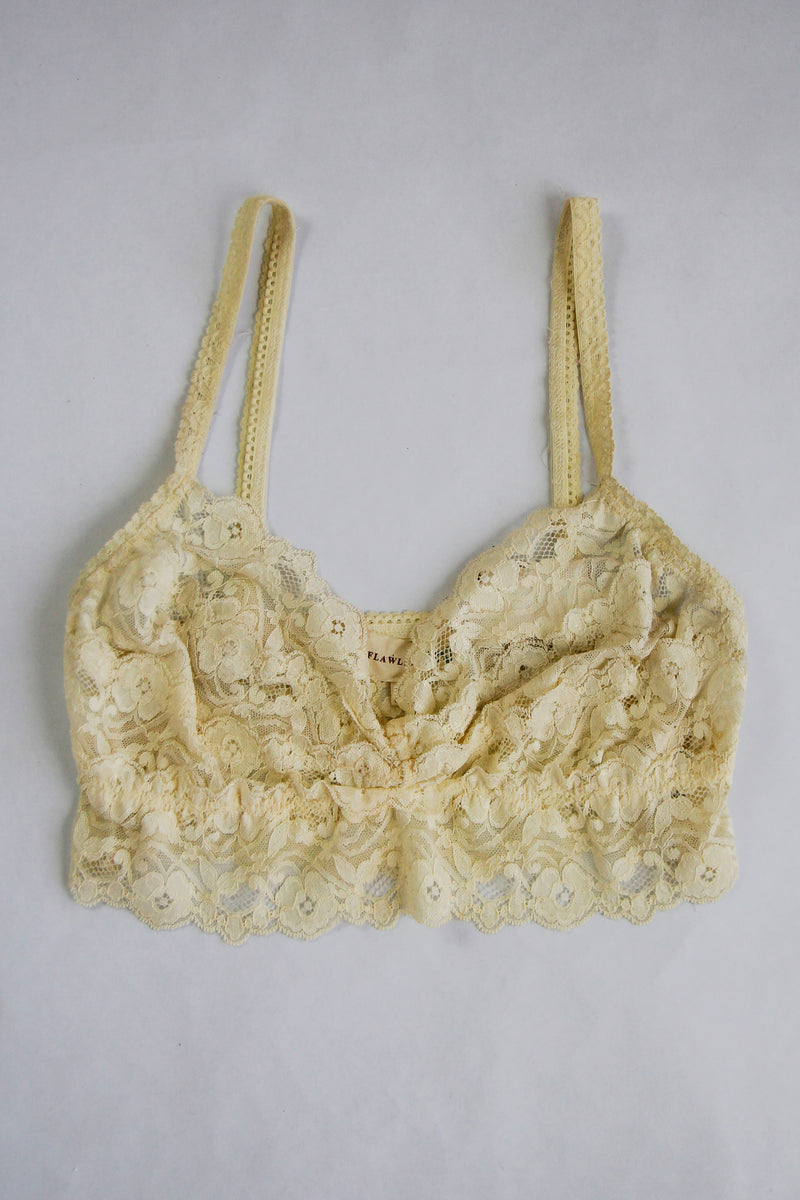 Beautifully Basic Bralette - Ivory