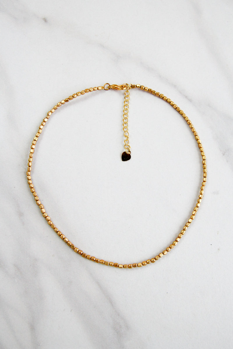 Treasure Hunt Choker - Gold