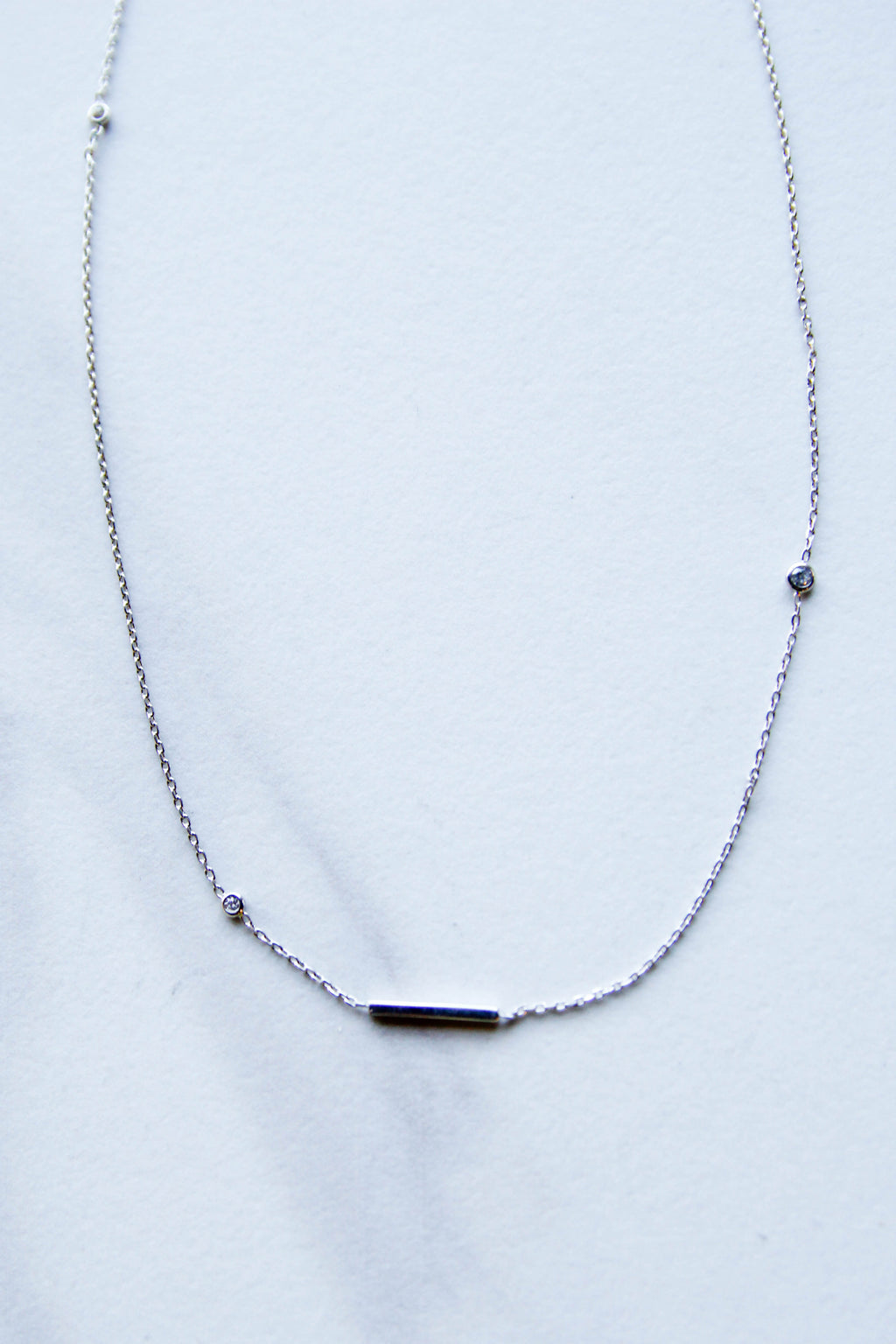 Shine Bright Bar Necklace