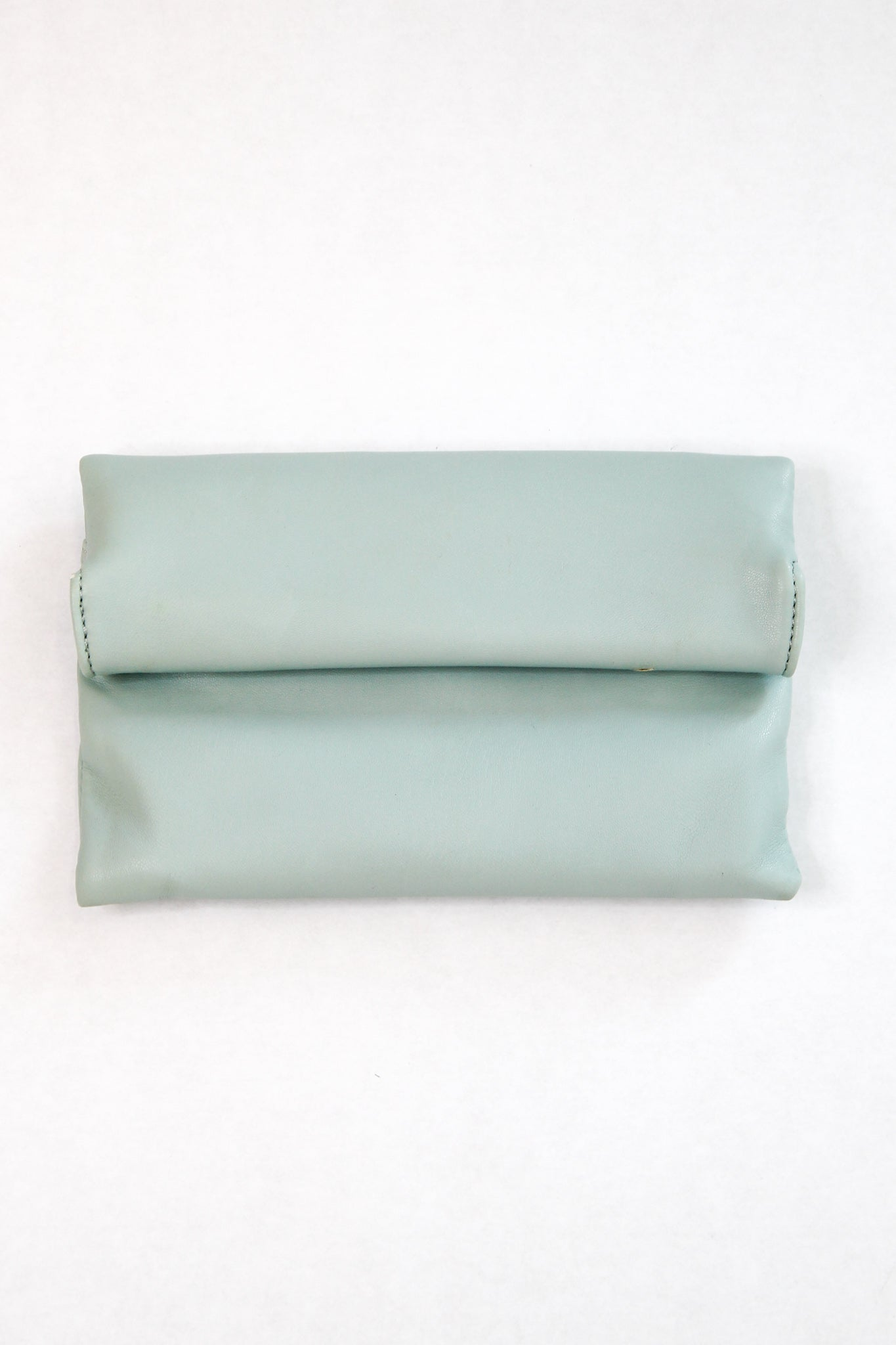 Large Cosmetic Bag - Light Green