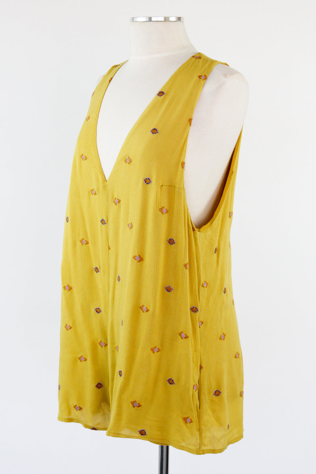 Lolla Romper - Lemon