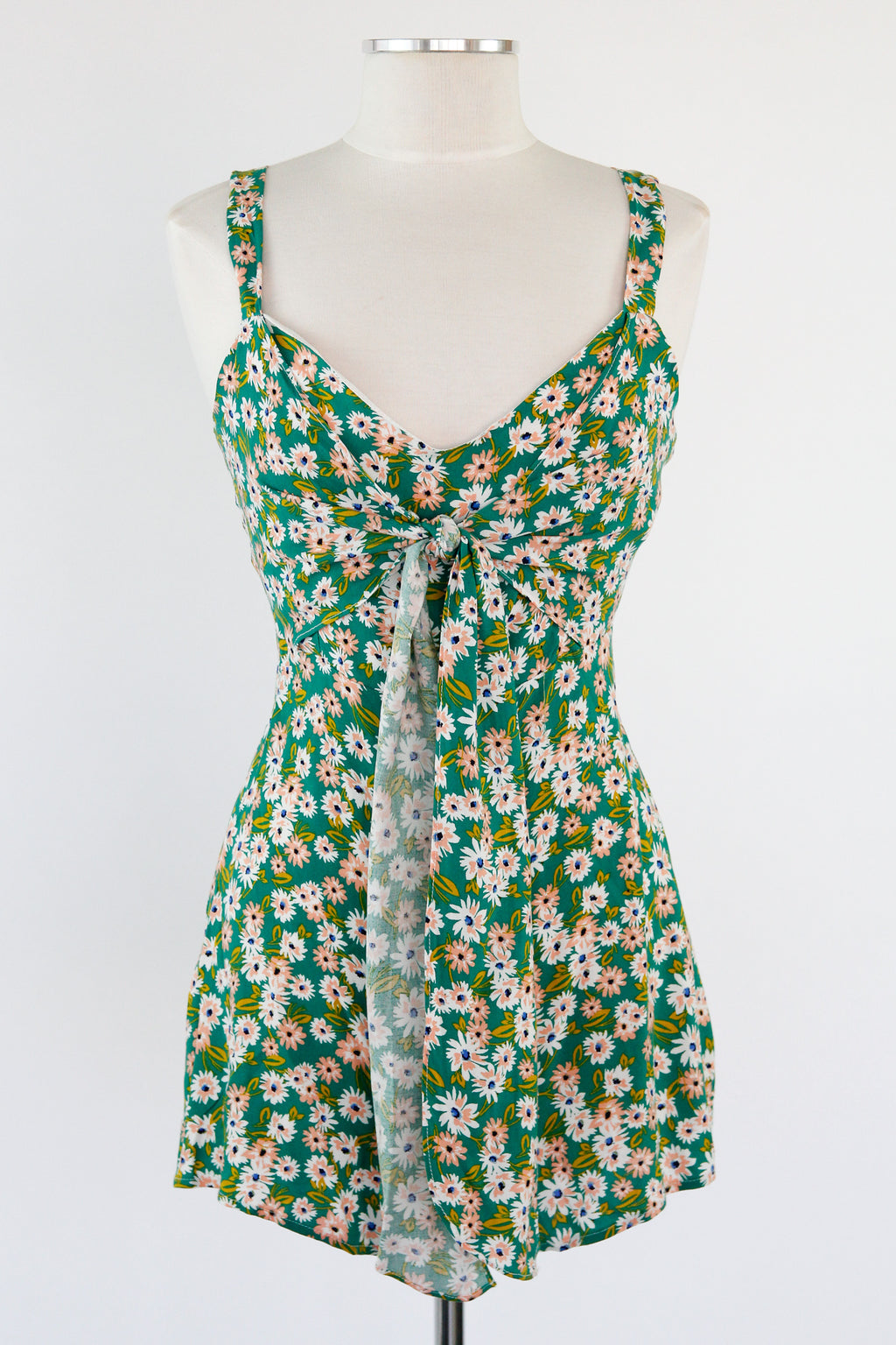 Lazy Daisy Romper - Green