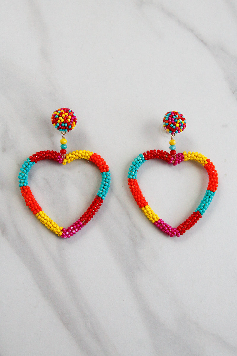 Summer Love Earrings - Multi