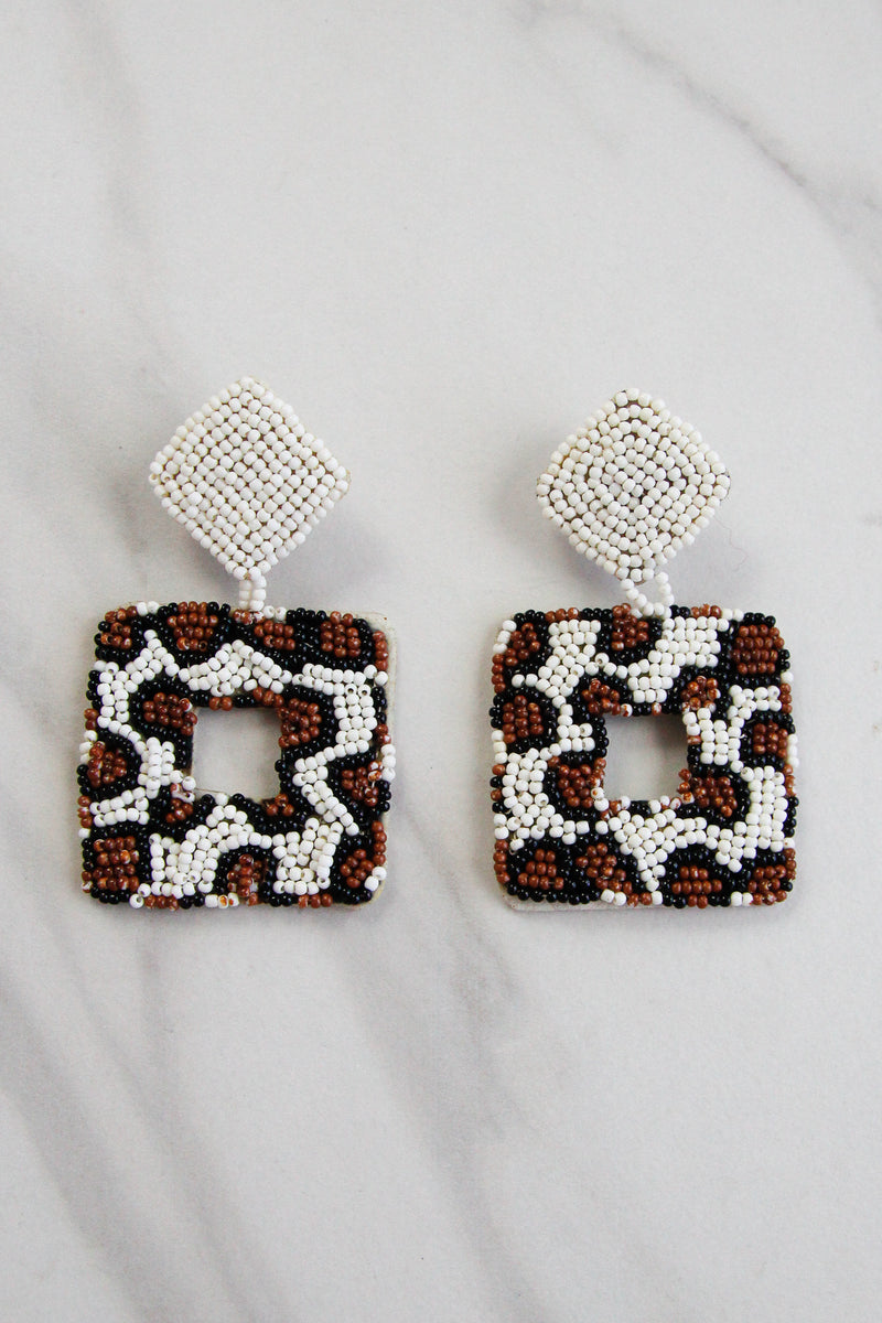 Get Wild Earrings - Leopard