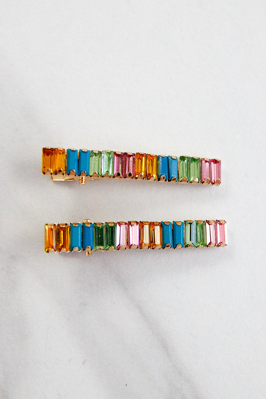 Treasure Trove Hair Clips - Rainbow