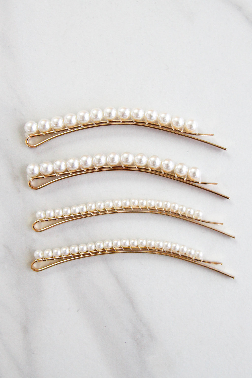 She's A Classic Hair Pin Set - Pearls