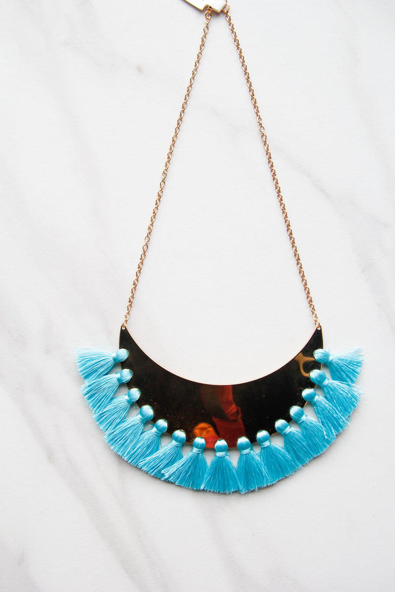 Blue Cha Cha Feels Necklace