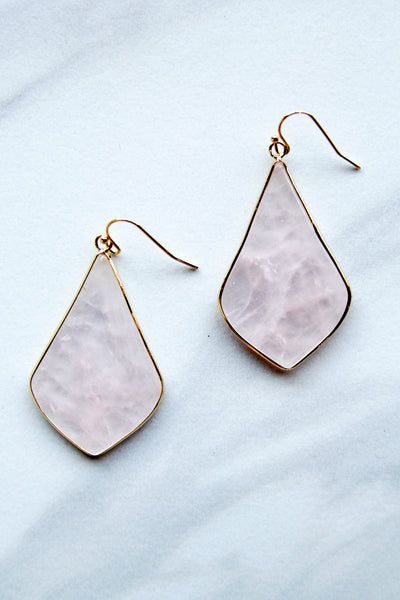 Blush Statement Earrings