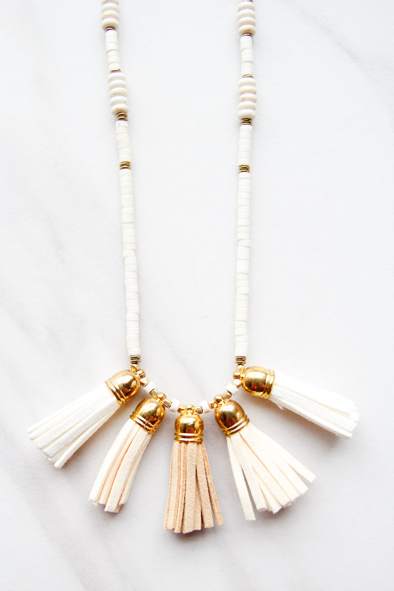 Aztec Fringe Feels Necklace