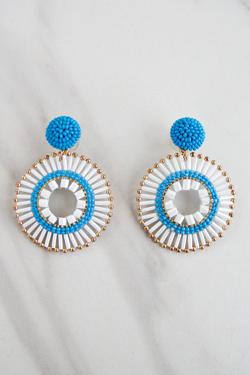 Larkin Earrings - White