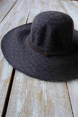 Charcoal Falling for you Hat