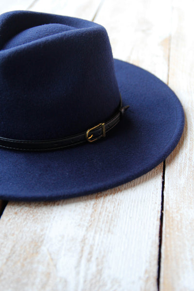Navy Soft Spot Hat