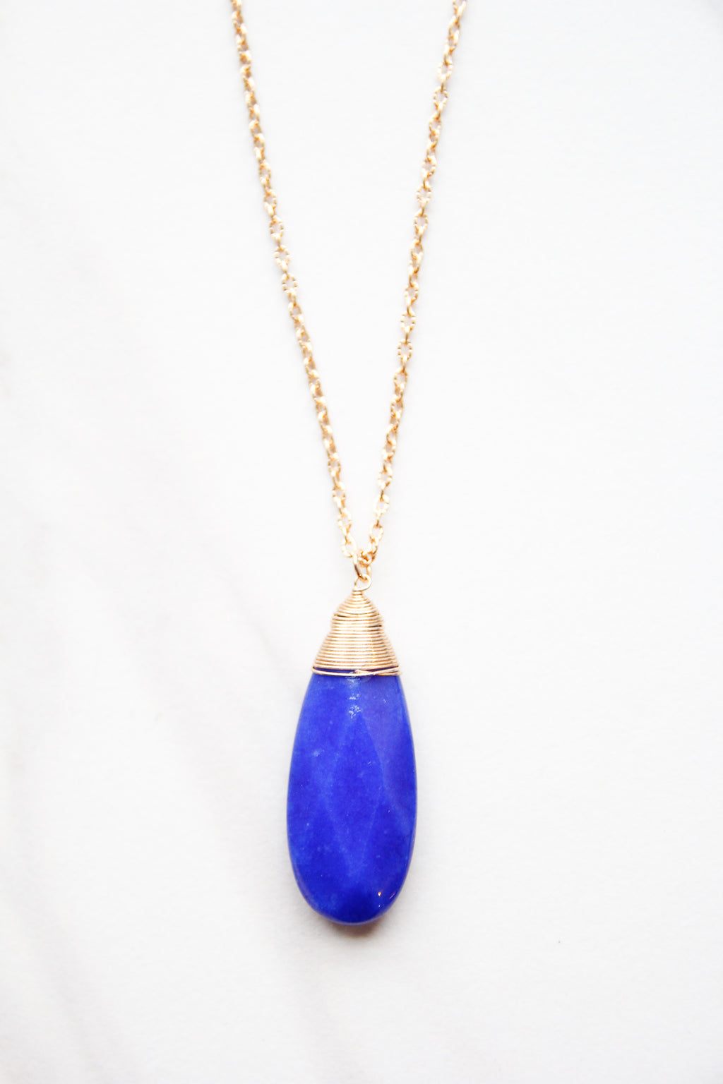 Bold Bold Blue Necklace