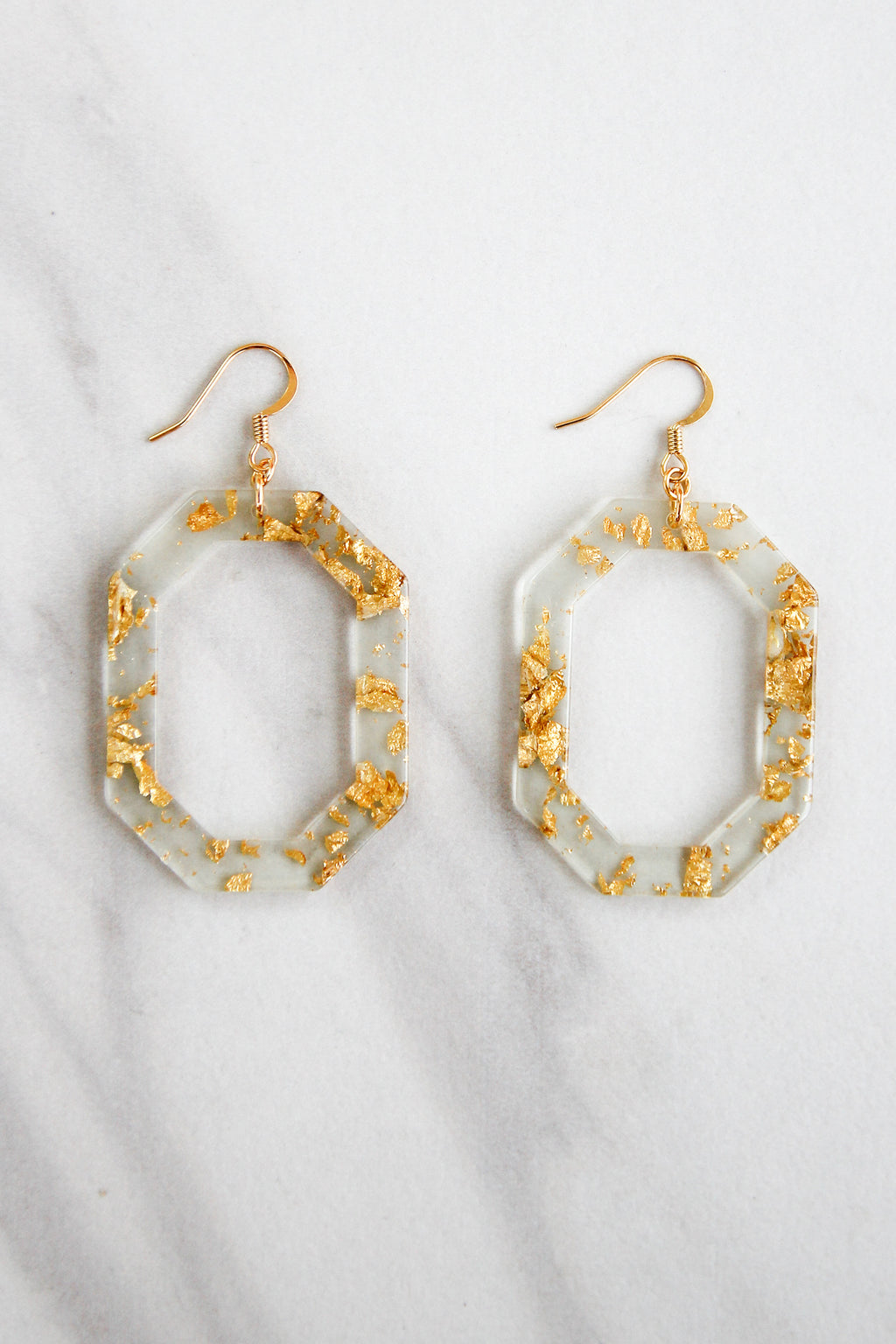In The Future Acrylic Earrings - Clear