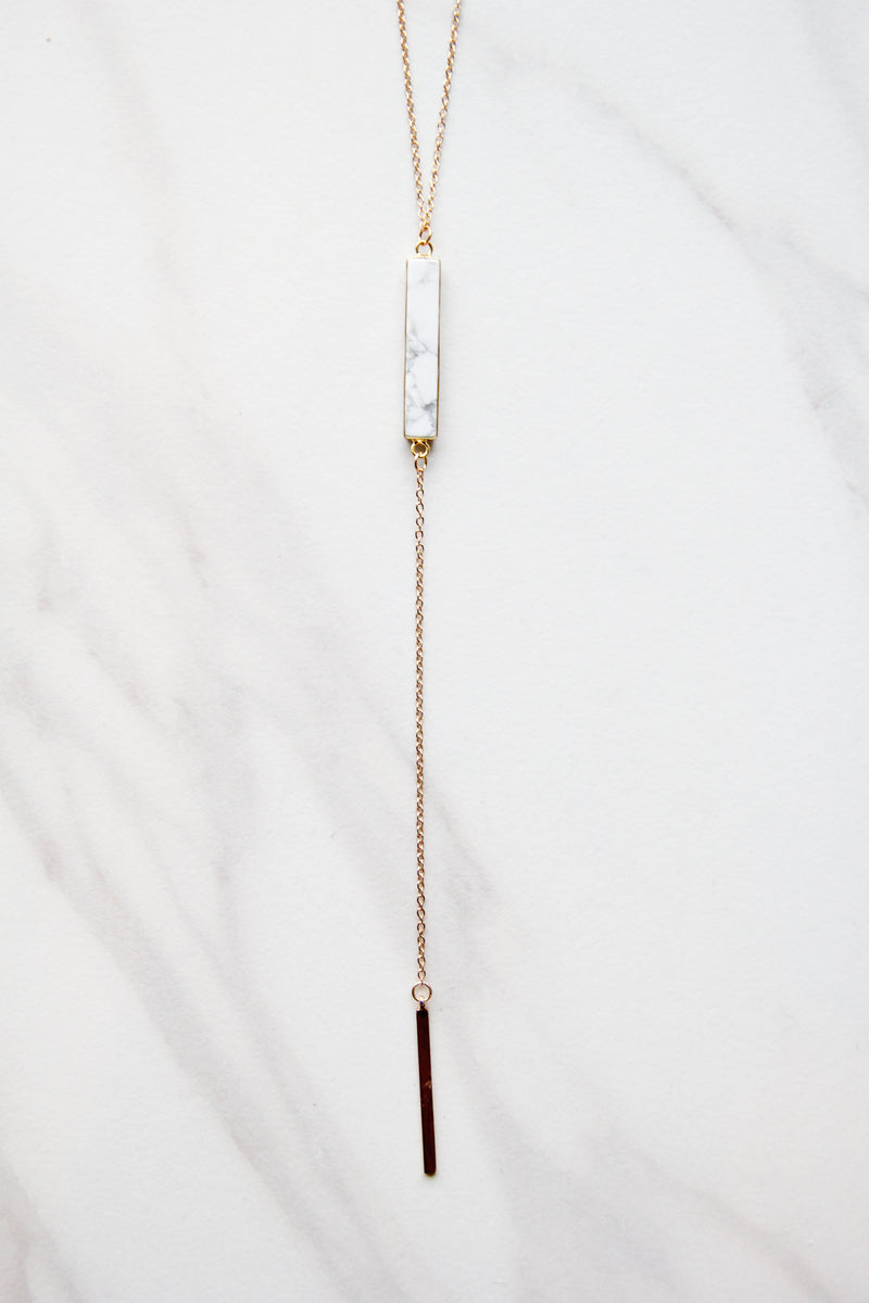 Michelle Marble Necklace