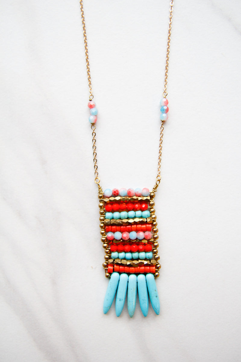 Orange Sherbet Necklace