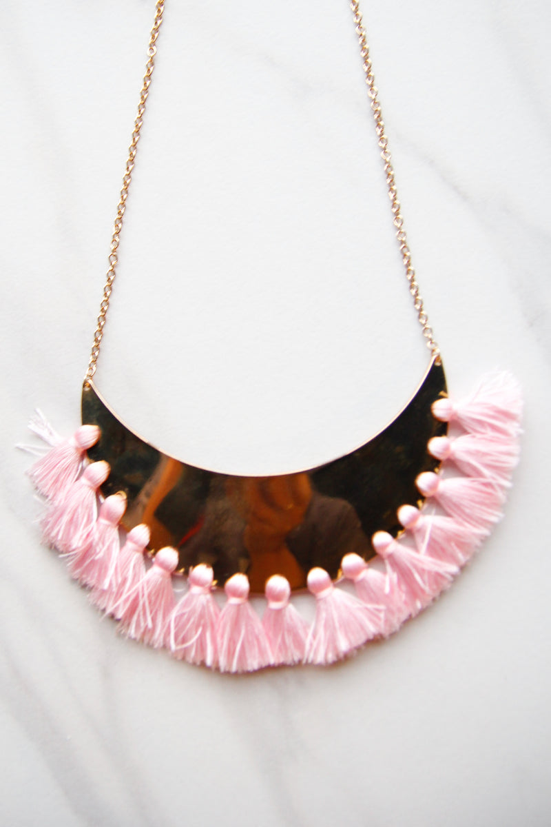Pink Cha Cha Feels Necklace