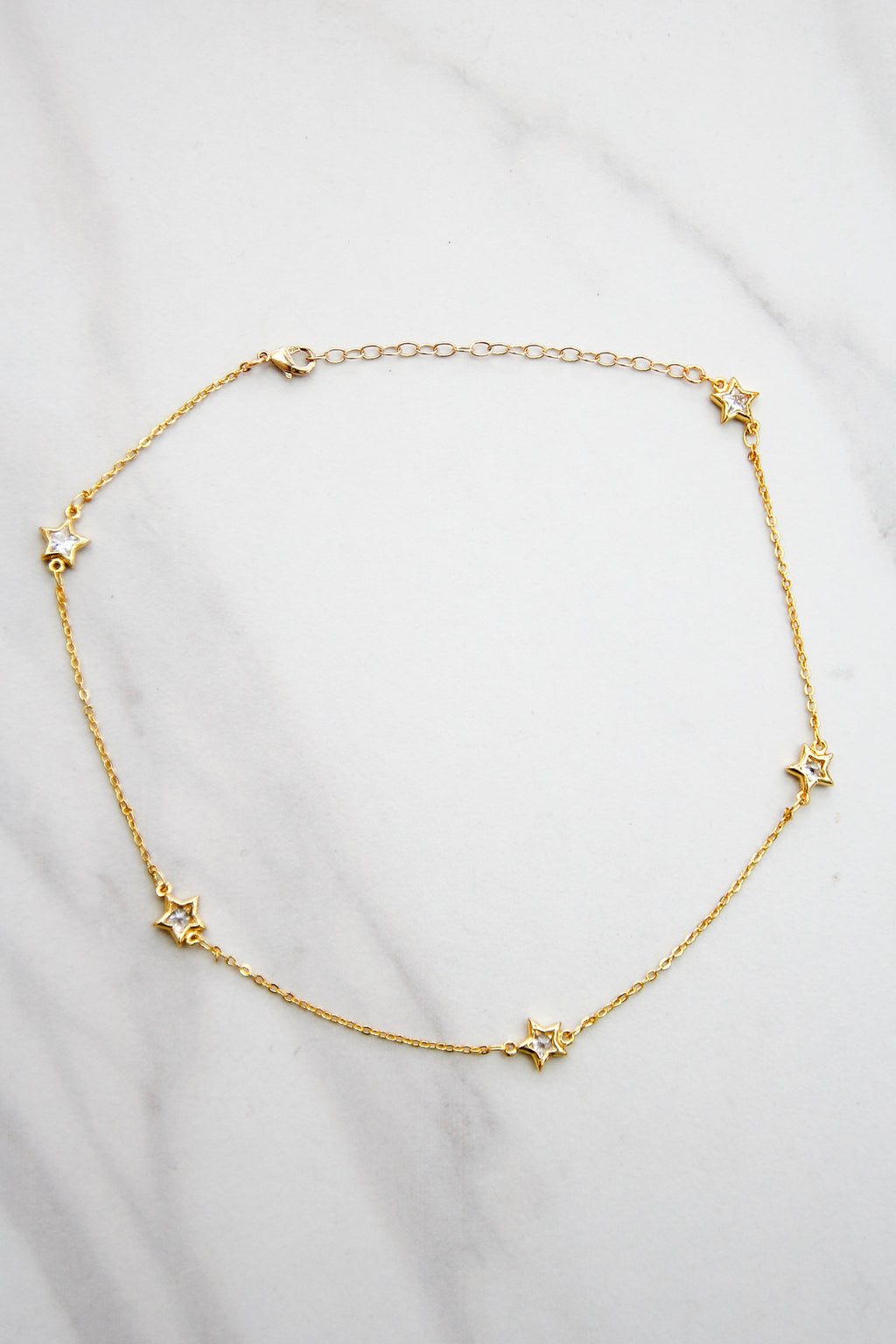 Rewrite The Stars Choker - Gold