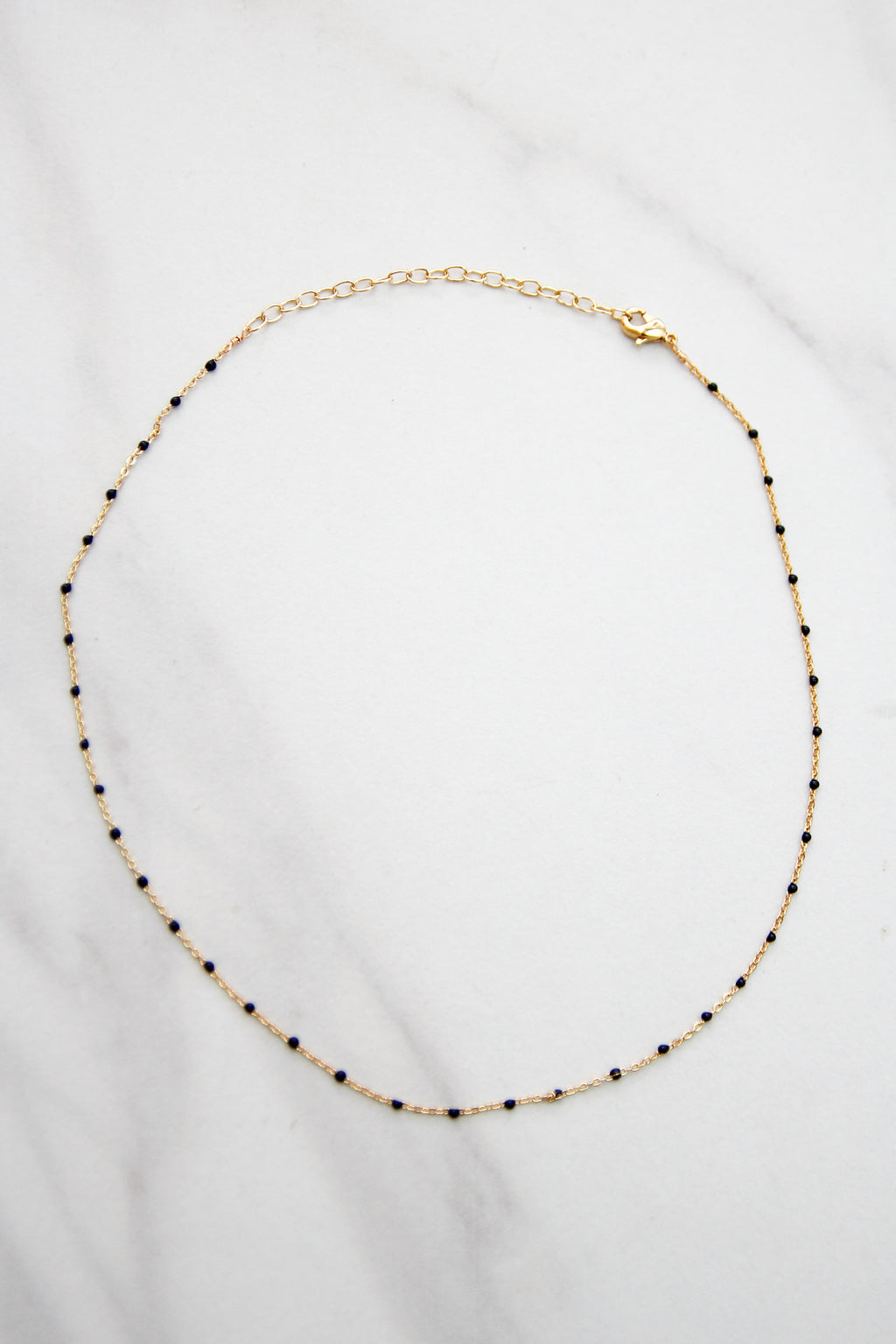 Delicate Situation Choker - Black