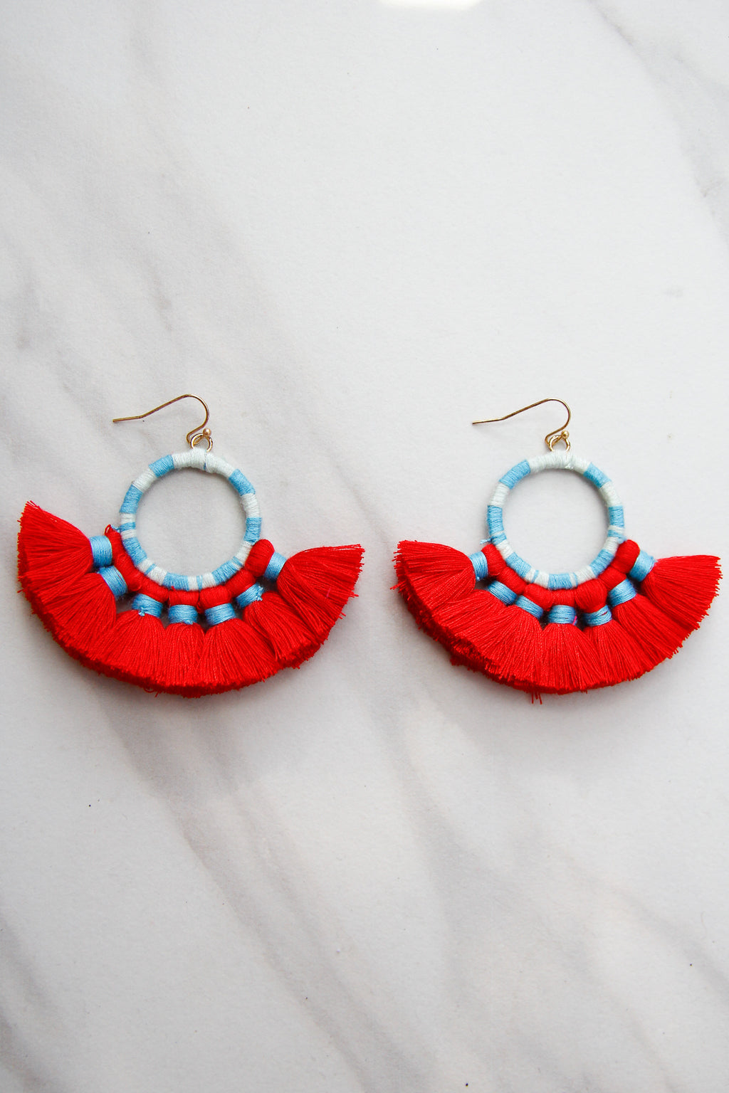 Once Upon A Time Earrings - Red