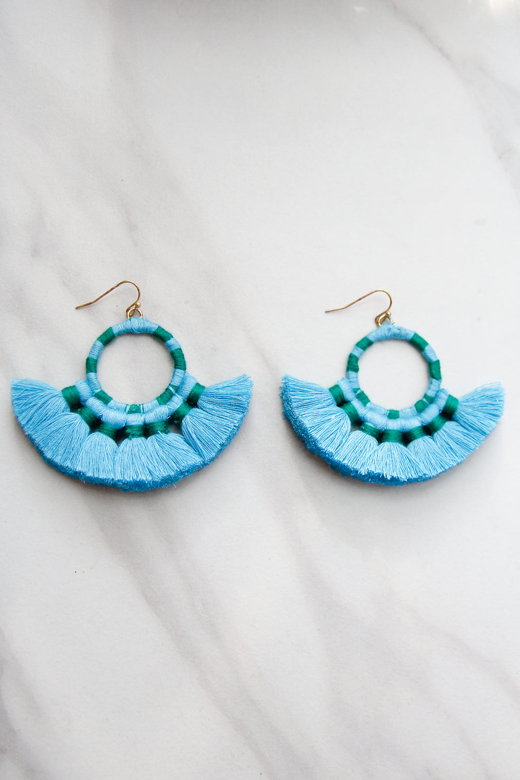 Once Upon A Time Earrings - Turquoise