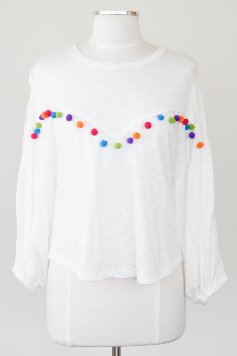 Pom Pom Party Top