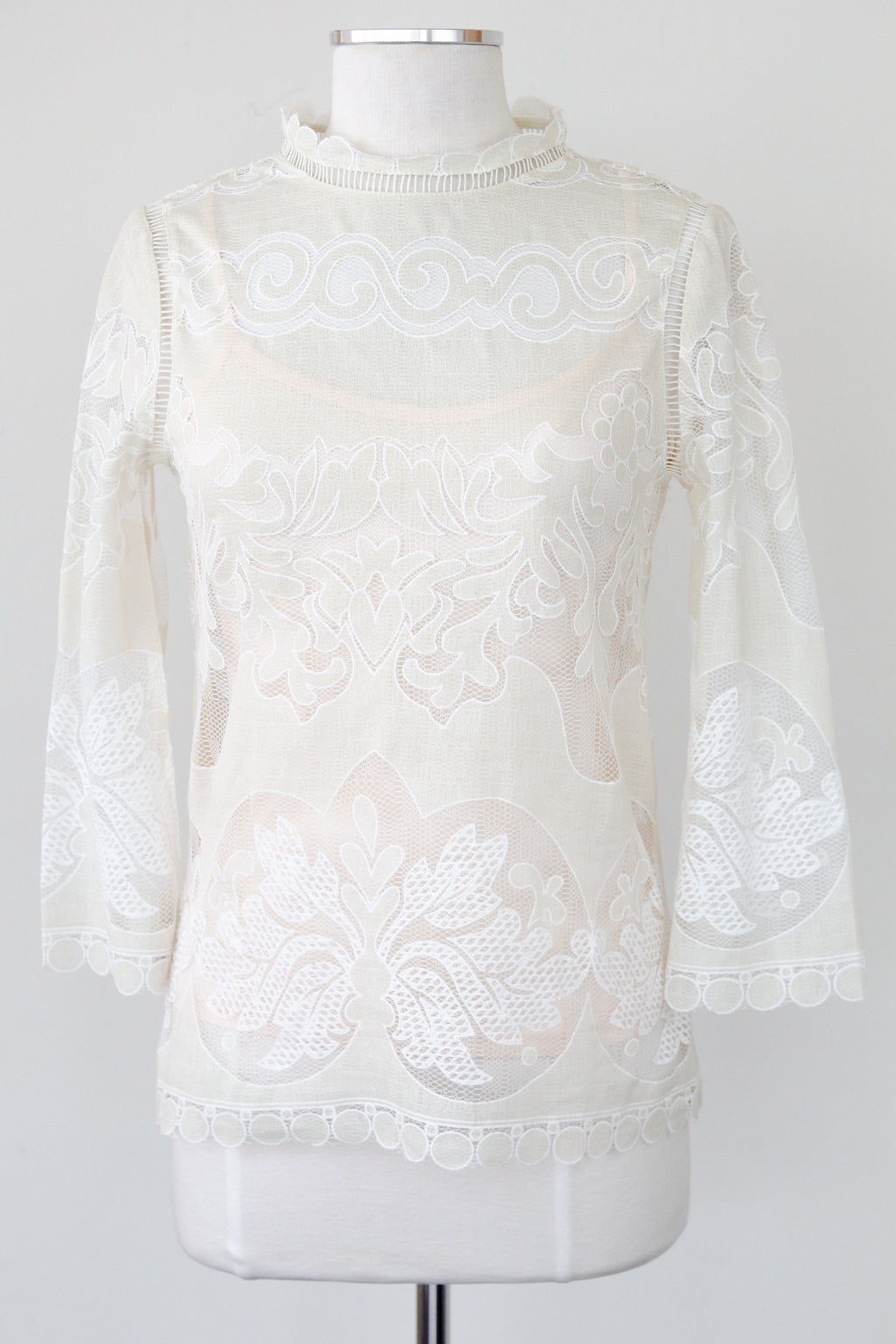 Marie Lace Top