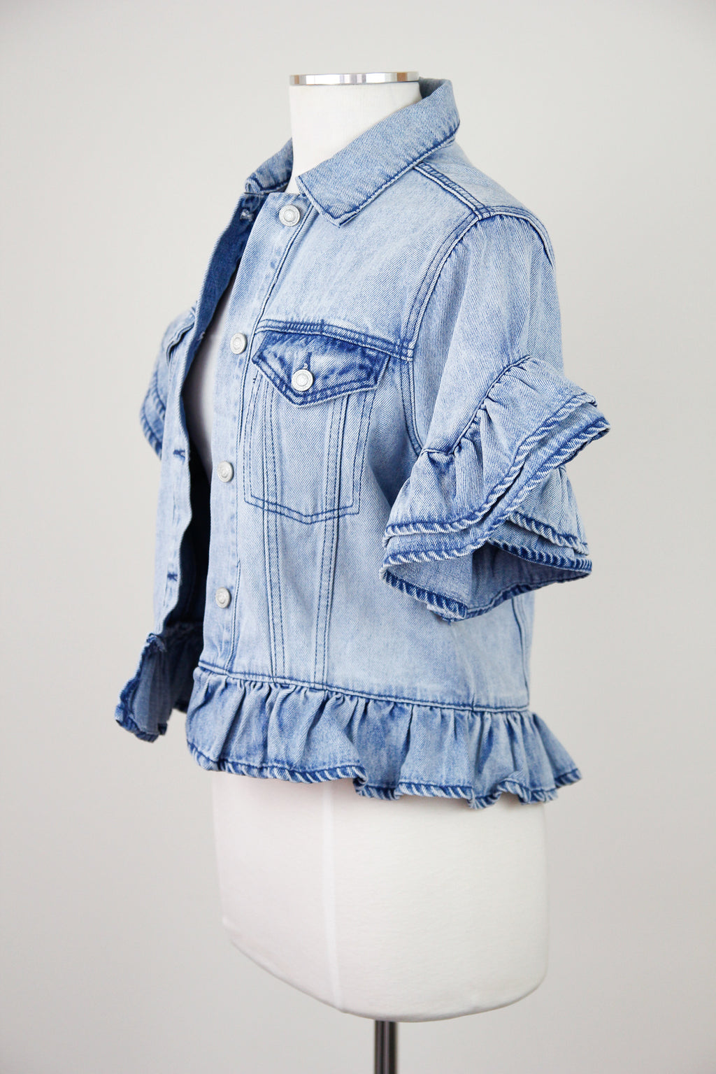 Spring Chic Denim Jacket