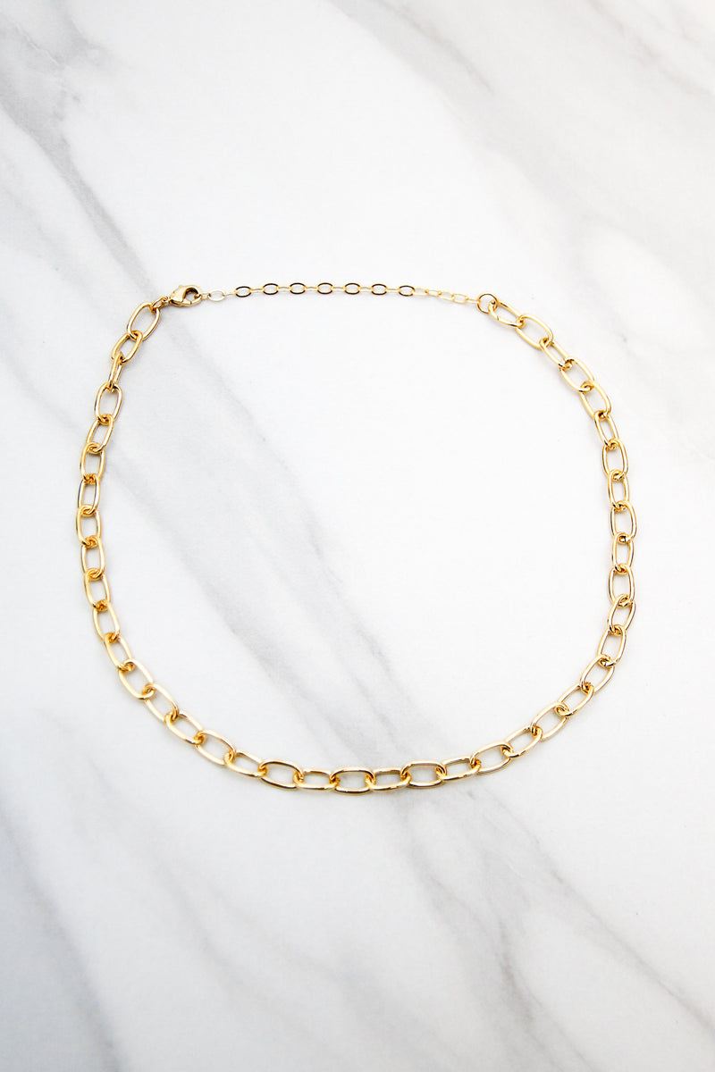 Off The Chain Choker - Gold
