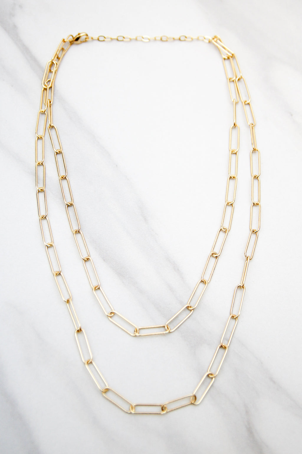 All Gold Everything Necklace