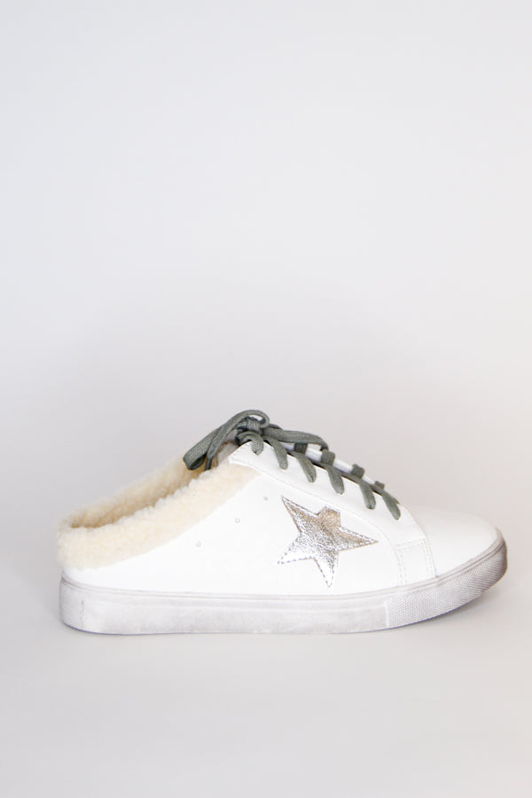 Star Of The Show Sneakers - Sherpa
