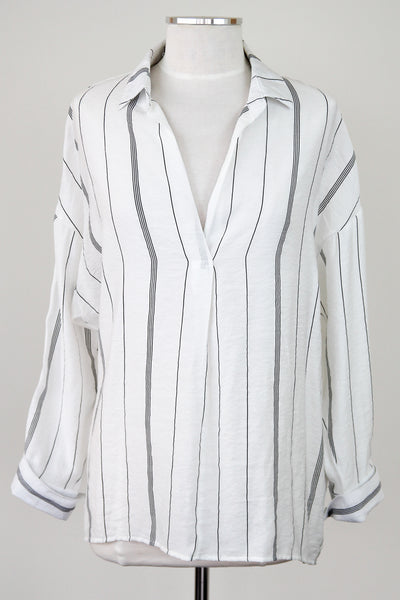 Stripe It Up Blouse