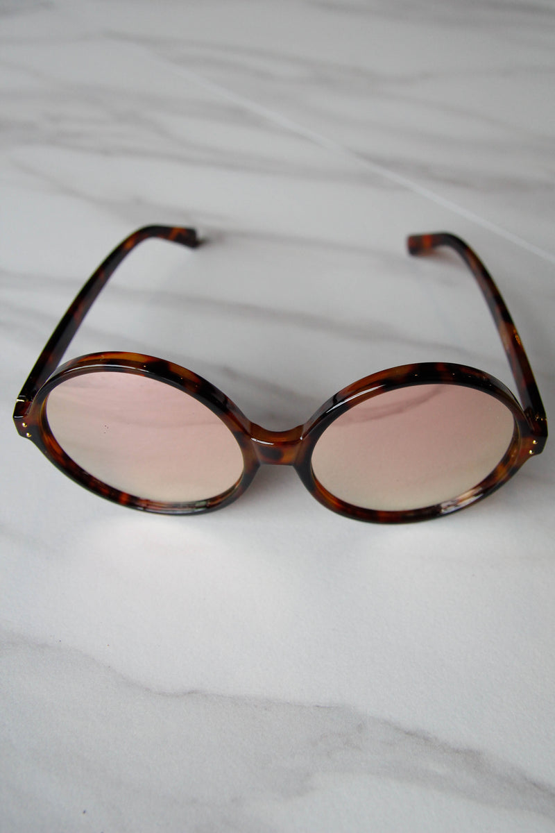 Brown Retro Sunnies