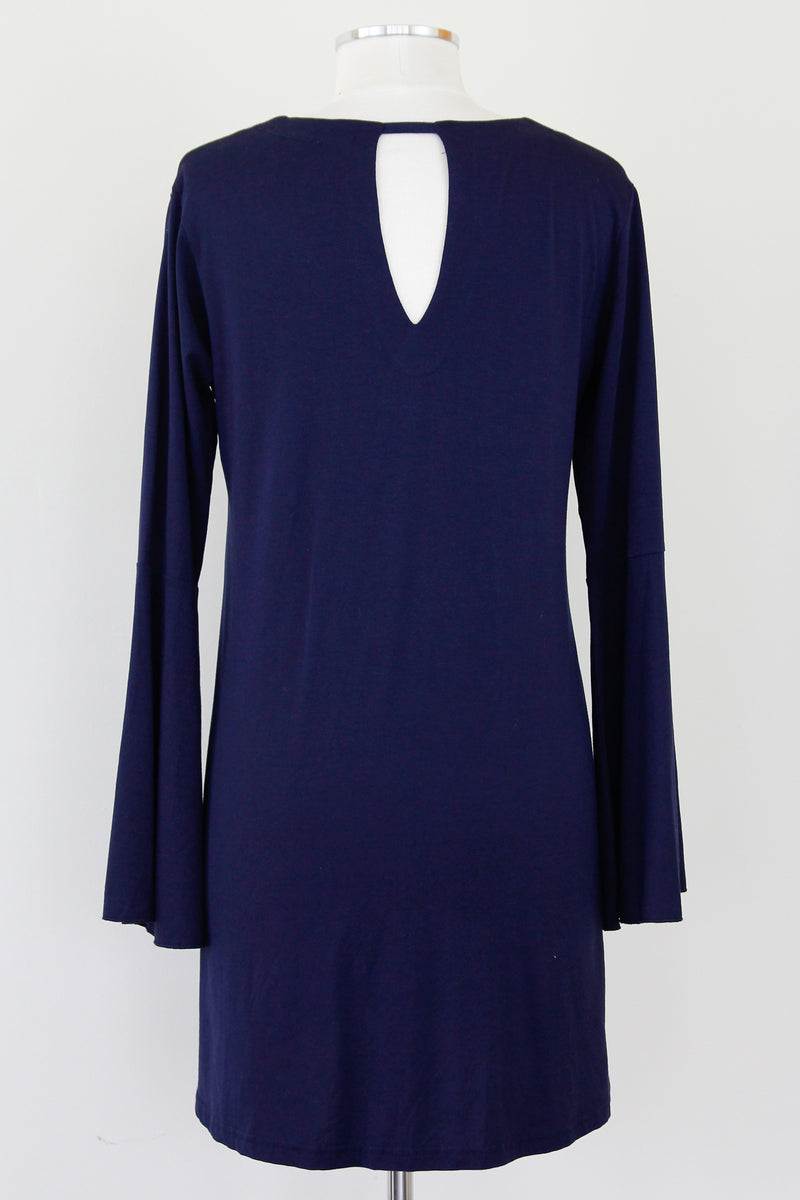 Sunday Strolls Navy Dress