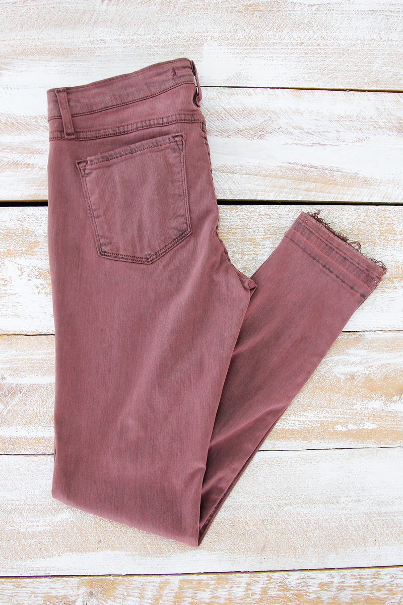 Flying Monkey Berry Skinny Jean
