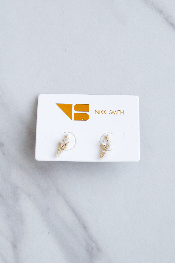 Star Cluster Studs- Gold