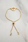 All Seeing Slider Bracelet - Gold
